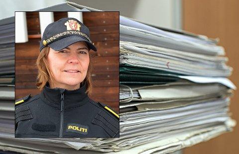 ANMELDT: Etterforskningsleder Heidi Staxrud bekrefter at saken er anmeldt.