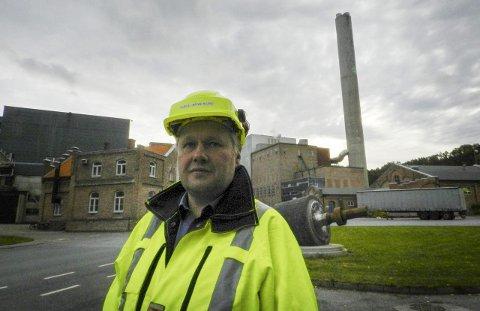 KJELL-ARVE KURE: – Ved nyttårsskiftet kommer Norske Skog Saugbrugs til å ha 466 ansatte.