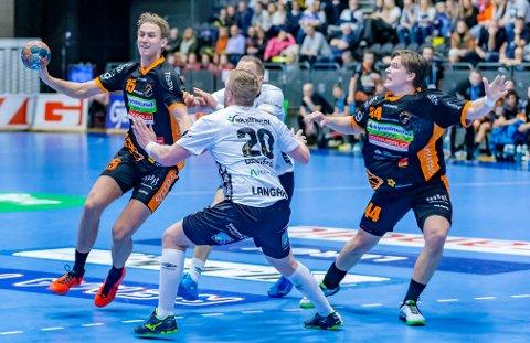ATTRAKTIVE: Kristian Stranden (tv) og Thomas Solstad er to av HTH-spillerne som kan være på vei bort etter denne sesongen.