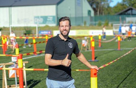 REKORDJAKT: Stian Mjølnerød-Lie, tidligere a-lagsspiller i Comet og nå daglig leder i Halden Idrettsråd, håper å sette ny Halden-rekord i sykkelrittet Trondheim - Oslo neste år.