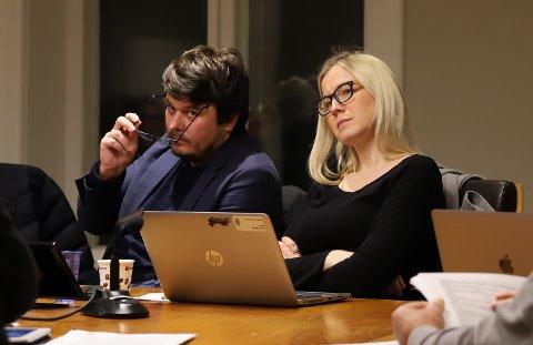 Helge Bergseth Bangsmoen og Linn Laupsa var tydelige på at det ikke skulle bli forsinkelser på Os-prosjektet da de vedtok å sende reguleringsplanen tilbake høsten 2019. Arkivbilde.