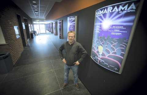 KLAR: Kinosjef og festivalsjef Espen Jørgensen gleder seg til fire dager med film og spill i mars.