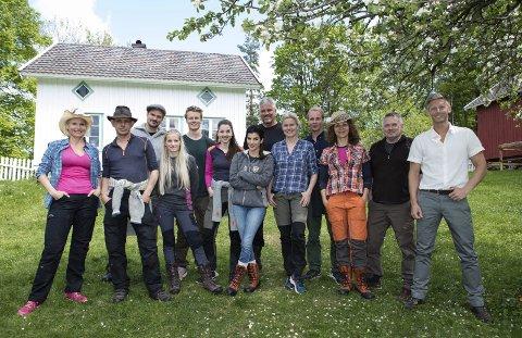 KJendiser: 12 kjendiser har blitt til tre, og Leif Einar Lothe er blant dem som har nådd helt til semifinalen i Farmen Kjendis. Pressefoto: TV2