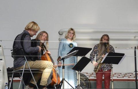 På scena: Tora Augestad på scena under musikkfesten i 2018. Arkivfoto: Ernst Olsen