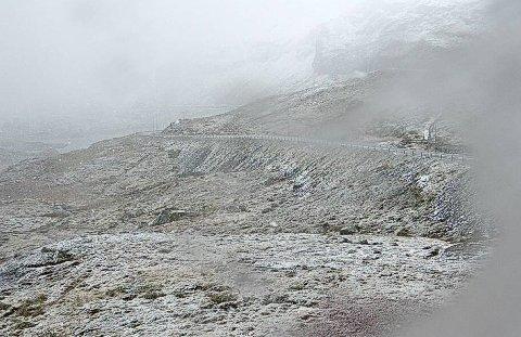 Det kan bli snø på fjellovergangene de neste dagene.