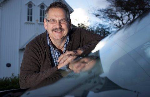 FLYTTER: Bruktbilforhandler Geir Sommerfeldt åpner ny butikk på nyåret.