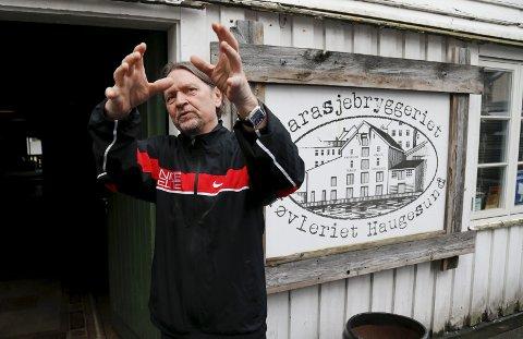 BYGGET OPP: Bjørn Dybdahl og hans medarbeidere har bygget opp Høvleriet til sitt eget kulturhus.           FOTO. ALF-ROBERT SOMMERBAKK