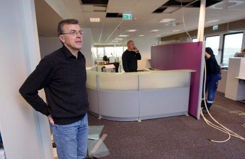 PENDLER TIL OSLO: - Jeg skal foreløpig pendle mellom Haugesund og Oslo, sier Knut Børge Lunde som gikk av som banksjef i Handelsbanken i Haugesund 1. oktober.
