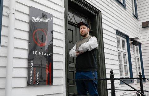 KLAR FOR STOR INNRYKK: John G. Lohne, daglig leder/eier på To Glass, har 250 kilo skrei i bestilling når Haugesund i 100 arrangeres for tredje gang kommende uke.