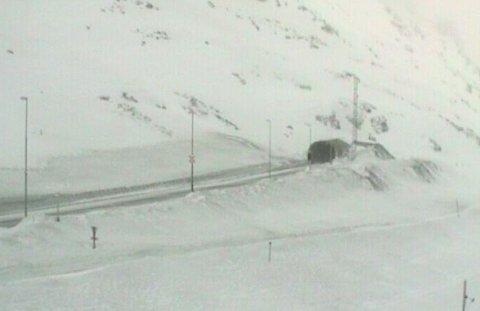 HAUKELIFJELL: Det er ventet uvær i fjellet 1. påskedag.
