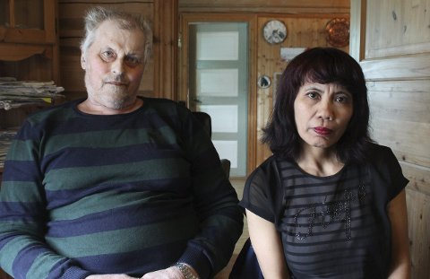Tunge dager: – Vi har hatt svært tunge dager med lite søvn og mange tårer, forteller Arnfinn og Flordeline Brennmo.Foto: Snorre P. Sjøvoll
