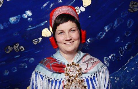 Aili Keskitalo ønsker alle til lykke med Samenes nasjonaldag.