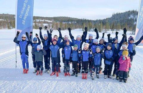 AVSLUTNING: Mosjøen IL Ski hadde avslutning av sesongen på Sjåmoen torsdag kveld, og da var det mange som benyttet anledningen til å delta i Sjåmorennet QR 2021..