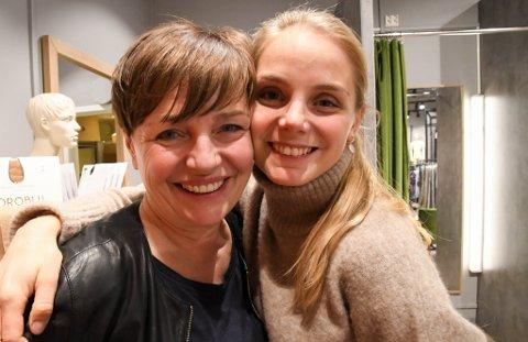 ÅPNER: Hege Johnsen åpner torsdag sin sjette Zero-butikk - denne gang på Amfi i Alta. Her med datteren Mia Skrede.