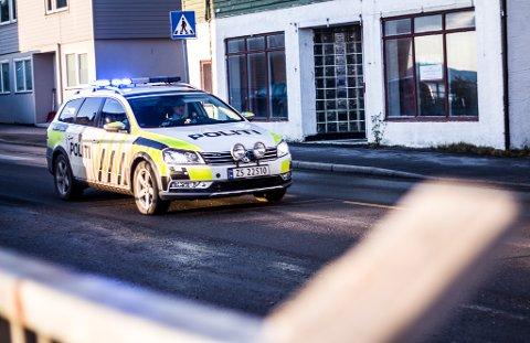 AKTIV NATT: Politiet hadde en aktiv natt.