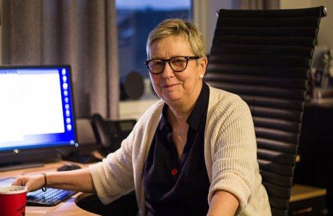 GJØR SEG KLAR: Wenche Pedersen sier de gjør seg klar for en mulig massevaksinering.