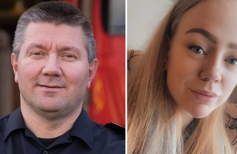 SPENNENDE: Karoline Gullhav (25) synes det blir spennende å se om hun er den heldige til å få jobben som ny brannkonstabel i Sør-Varanger. Hun er blant 19 søkere til jobben, et søkertall brannsjef Henrik Haldorsen er godt fornøyd med.