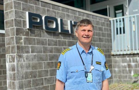 Politistasjonssjef Frank Sletten i Harstad åpner fredag et nytt tilbud til befolkning