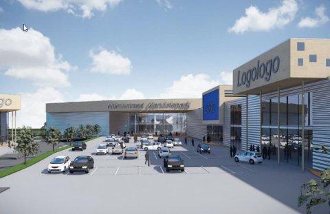 HANDEL: Grunneierne ønsker å etablere handel for plasskrevende varer på til sammen 24.000 kvadratmeter innerst i Bentsrudveien.