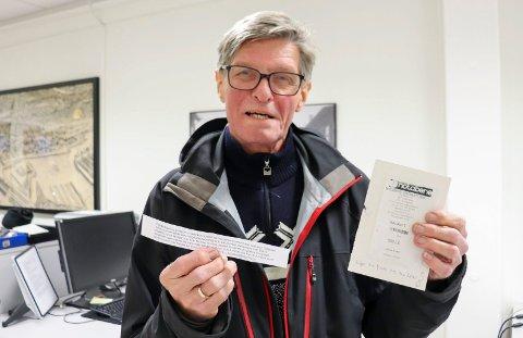 Alv Magne Nordal synes det er merkelig at han ikke får brukt gavekortet sitt på 500 kroner.