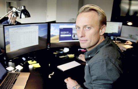 Stor omsetning: Propr-sjef Kjetil Eriksson er fornøyd med året som gikk. Pressefoto