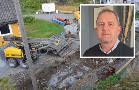 UTSETTER: Ordfører Grunde Wegar Knudsen (Sp) besluttet å kalle inn til et ekstraordinært kommunestyremøte for å behandle anleggsteam-saken.