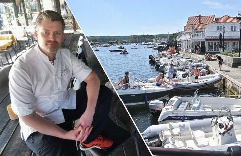 REAGERER: Thor Ingo Gabrielsen driver Strøm mat og bar i Skien.