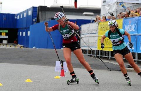 VAR GOD: Ragnhild Femsteinevik gjorde sine saker bra då ho kvalifiserte seg for finale i Blink-festivalen i Sandnes.