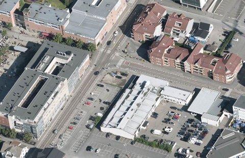 STENGES: Innkjøringen til Sørumsgata fra Solheimsgata stenger fra og med 1. juli.