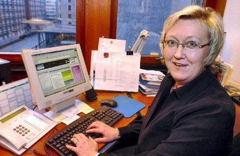 Fiskeriminister Elisabeth Aspaker