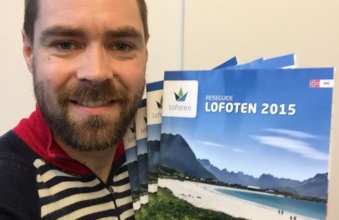 Kristian Nashoug i Destination Lofoten.