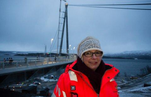 Ny regionvegsjef: Turid Stubø Johnsen har tatt over som regionvegsjef etter Torbjørn Naimak.
