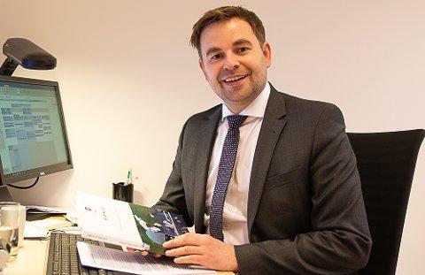 På plass: Allan Ellingsen er på plass som ny statssekretær i Samferdselsdepartementet. Han har blant annet fått ansvar for arbeidet med Nasjonal transportplan.