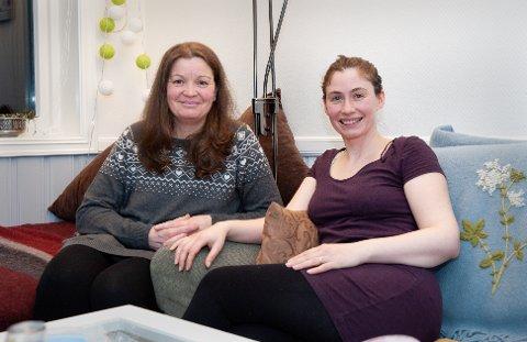 Martina Shuchmacher og Manuela John har mange felles planer under navnet Viking Terapi.
