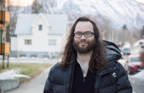 NY JOURNALIST: Bjarne Benjaminsen går inn i Lofot-Tidenes redaksjon 1. februar.