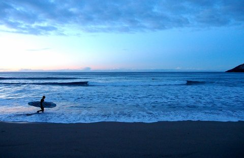 Illustrasjonsbilde: Surfing på Unstad.