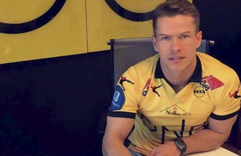 Signerte: Bajram Ajeti blir å se i LSK i 2017-sesongen. Foto: Privat