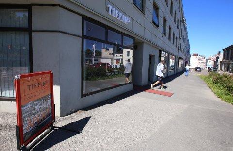 TIL SALGS: Etter ti måneder i drift er den indiske take away-restauranten Tiffins til salgs.