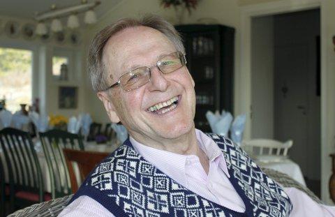 DAGENS NAVN: Gunnar Listerud. Pensjonert statsviter. Gift, barn og barnebarn.