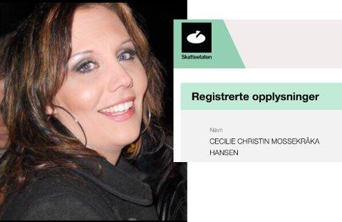 DEN ENESTE? Cecilie savnet kråka så mye at hun valgte å endre endre navnet sitt.