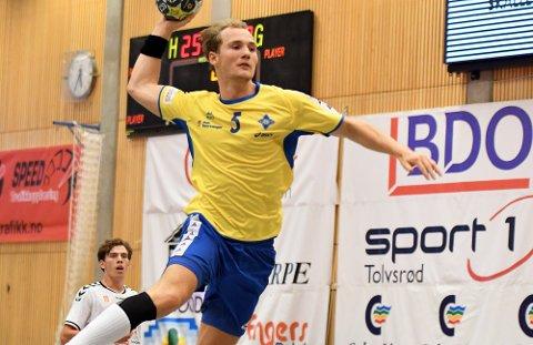NYKOMMER: Tormod Hauane er en av Bækkelagets nye spillere foran kommende sesong. Venstrekanten, som kommer fra Falk Horten, scoret to mål på to forsøk i finalen.