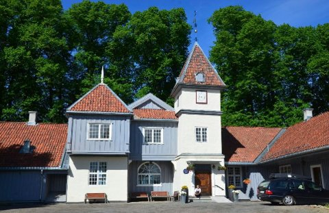 Historisk vandring: Nordre Skøyen hovedgård er utgangspunkt for den historiske vandringen 1. september.