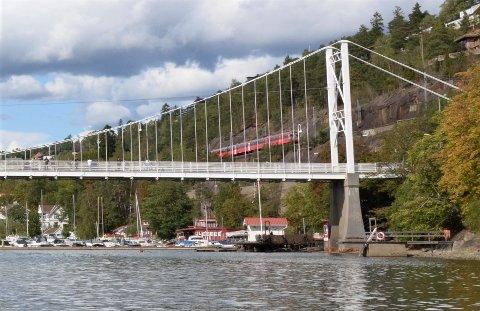 UØNSKET BESØK: Sandkroken båtforening, som holder til ved Mosseveien og Ulvøyabrua, skal flere ganger i det siste ha hatt uønskede gjester. Arkivfoto: Nina Schyberg Olsen