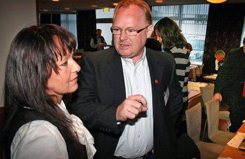 Line Miriam og Per Sandberg ble gift i 2010 og har vært bosatt på Senja iTroms. Foto: Torgeir Bråthen
