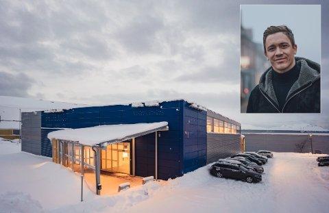 LEDIG: JM Hansen jakter ny leietaker i bygget som fram til november huset Ikea i Tromsø. Flere er interessert, sier daglig leder i JM Hansen eiendom, Andreas Arild.