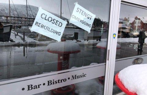 BYGGER OM: Etter flere år med sang, dans og godt selskap er Kaia bar & Bistro i gang med oppussing.