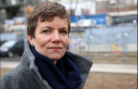 TAR UT LEGER I STREIK: Marit Hermansen i Legeforeningen.