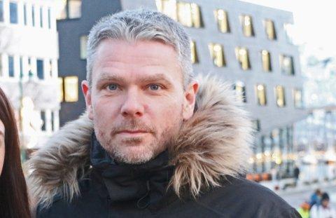 NY LEDER: Øyvind Bakkeby Moe forteller om det nye vervet sitt.