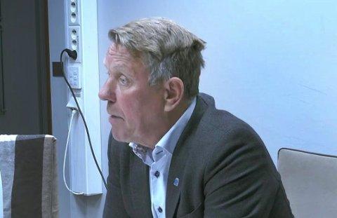I dag måtte Gunnar Wilhelmsen svare for seg. Foto: Torgrim Rath Olsen