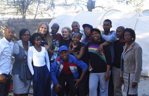 ERFARING: Astri Marie Moen Fretheim lærer mye året hun jobber i Lesotho.Foto: privat